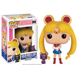 POP! Animation Sailor Moon: Sailor Moon & Luna