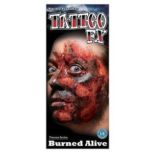 Brandwunde - Tattoo