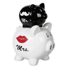 Mr. & Mrs. - Schwein Hochzeit