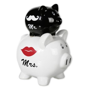 Mr. & Mrs. - cochon mariage