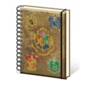 Harry Potter: Hogwart's Crests (A5)