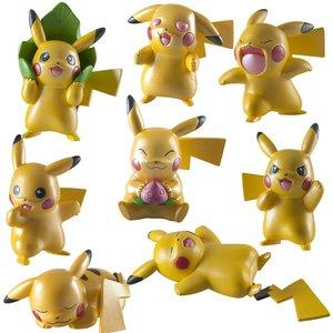 Pokemon: Metallic Pikachu (4er Set)