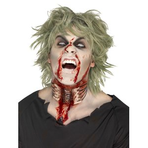 Zombie - Exposed Throat Wound