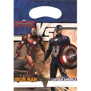 Captain America Civil War (6er Set)