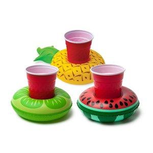 Aufblasbare Getränkeboote - Früchte (3er Set)