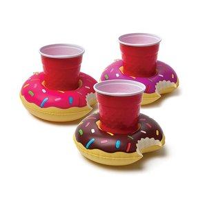 Aufblasbare Getränkeboote - Donuts (3er Set)