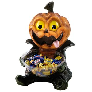 Candy Bowl Holder: Pumpkin