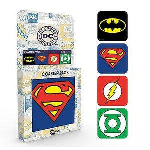 DC Comics: Logos (4 pezzi)