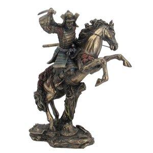 Samuraikrieger mit Pferd