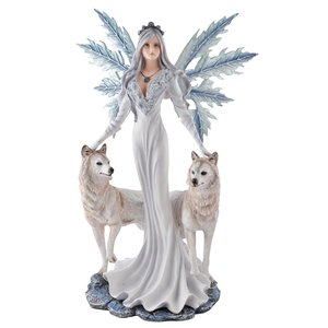 Fée Cristallupa avec des Loups