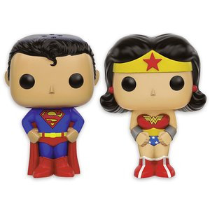 Pop! - DC Comics: Superman & Wonder Woman