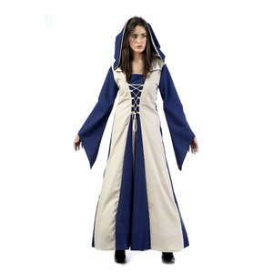Mittelalterliche Magd Elisa azul