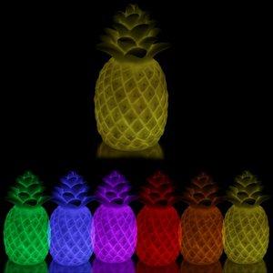Ananas mit Farbwechseleffekt