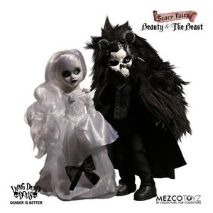 Living Dead Dolls: Scary Tales Set - Beauty and the Beast