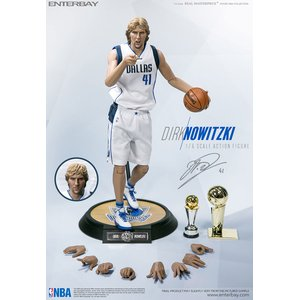 NBA - Collection Real Masterpiece: 1/6 Dirk Nowitzki