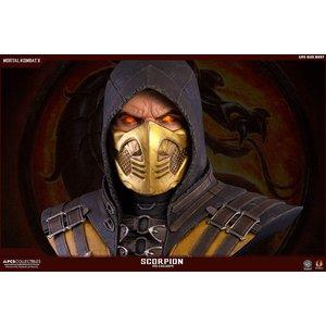 Mortal Kombat X buste 1/1 Scorpion Hellfire Exclusive 76 cm