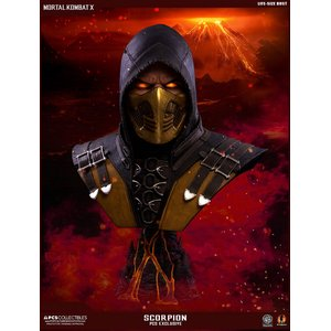 Mortal Kombat X: 1/1 Scorpion Hellfire Exclusive