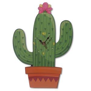 Kaktus Wanduhr