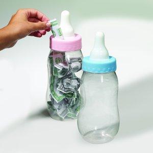 Jumbo Baby Flasche - Schoppen - blau