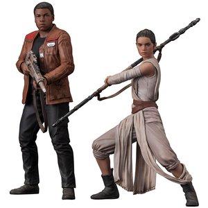 Star Wars - Episode VII: ARTFX Rey & Finn