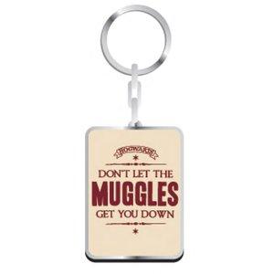 Harry Potter porte-clés métal Gryffindor Muggles 5 cm