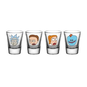 Rick and Morty: Characters (4er Set)