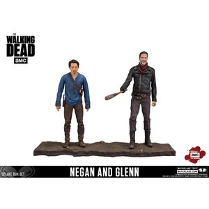 The Walking Dead: Negan & Glenn Doppelpack