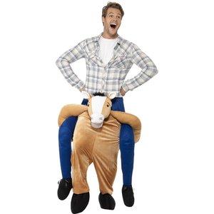 Huckepack - Piggyback: Pferd