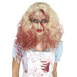 Zombie blutverschmiert