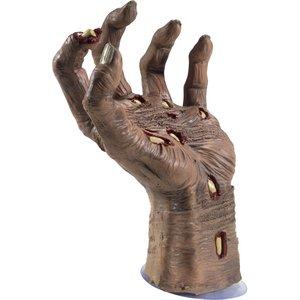 Zombiehand mit Saugnapf