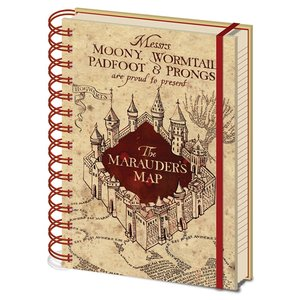 Harry Potter: Marauders Map A5