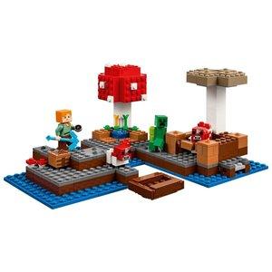 LEGO - Minecraft: Die Pilzinsel