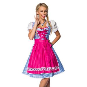 Oktoberfest - Dirndl traditionnelle Carreaux