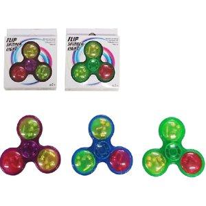 Fidget Finger Spinner - Hand Spinner mit Licht