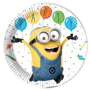 Minions: Balloons Party (8er Set)