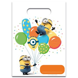 Minions: Balloons Party (6er Set)