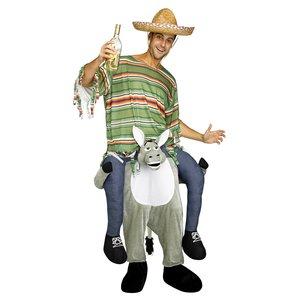 Huckepack - Piggyback: Mexikaner - Esel