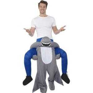 Huckepack - Piggyback: Haifisch