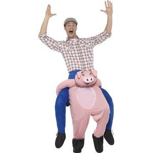 Huckepack - Piggyback: Schwein