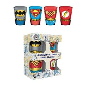 DC Comics: 4x Costume Premium