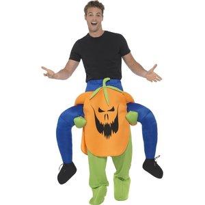 A cavalluccio - Piggyback: Zucca - Halloween