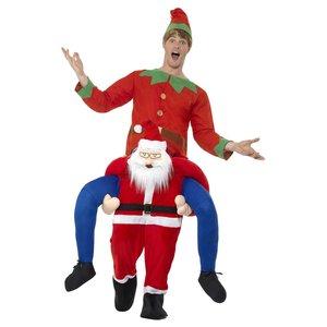 A cavalluccio - Piggyback: Babbo Natale