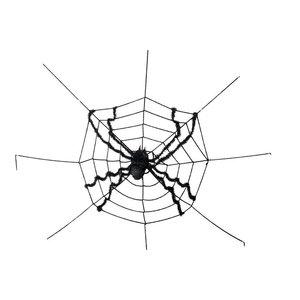 Halloween - Toile d'araignée avec araignée gigantesque