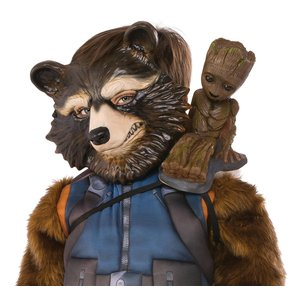 Guardians of the Galaxy: Groot Schulter-Figur