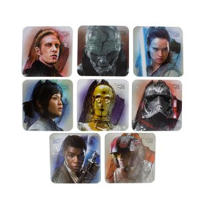 Star Wars Episode VIII: Charakter (8er Set)