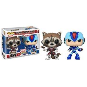 POP! Games Marvel vs. Capcom Infinite: Rocket vs. Mega Man X