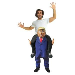 Huckepack - Piggyback: Präsident Donald