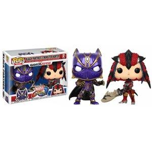 POP! Marvel vs. Capcom: Black Panther vs Monster Hunter