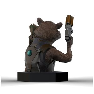 Guardians of the Galaxy Vol. 2 Büste 1/6 Rocket Raccoon & Groot 16 cm