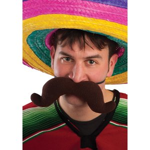 Mexicain - grand moustache